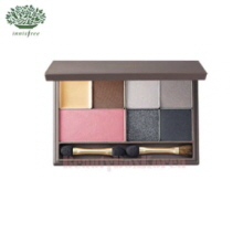 INNISFREE Hyeonjin's Red Make Up Set with My Palette Medium [My Palette- Winter Cool Dark],INNISFREE